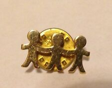 UNICEF Children Holding Hands Lapel Pin