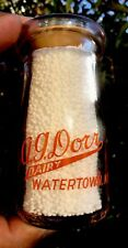 A.G. Dorr Dairy.  1/4 Pint.   WaterTown, New York.