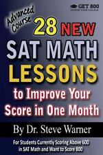 28 New SAT Math Lessons to Improve Your Score in One Month - Advanced Course : F