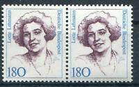 Bund Nr. 1427 postfrisch waagerechtes Paar ungefaltet BRD Frauen 180 Pfennig MNH