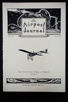 "US ""The Airpost Journal"" Vol. 1, No. 1"
