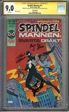 Amazing Spider-Man #252 CGC 9.0 SS 3x STAN LEE 1st Venom Symbiote FINNISH Ed