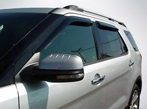 Tape-On Vent Visors for 2007 - 2010 Ford Explorer Sport Trac