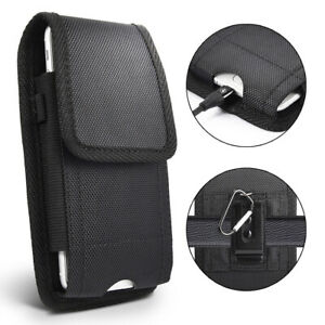 For Apple iPhone XS 11 12 Pro Max 6 6S 7 8 Plus Case Cover Belt Clip Holster Bag