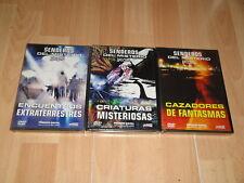 SENDEROS DEL MISTERIO SERIE COMPLETA DOCUMENTAL CON 3 DISCOS EN DVD NUEVO