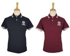 Franklin & Marshall Mens Polo Piquet Classic Short Sleeve T-Shirt, M, L