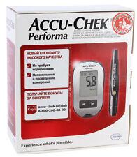 Accu-Chek Performa Blood Glucose Meter Kit Monitoring system Diabetic Case