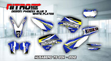 HUSABERG TE 125 250 300 2011-2012 11-12 Graphics Kit Decals Design Stickers MX