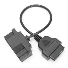 Diagnostic Scanner Adapter Cable 7 Pin Male OBD1 to OBD2 16 Pin For Ford EFI