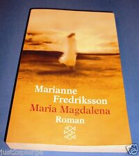MARIA MAGDALENA by Marianne Fredriksson Paperback Book German Language