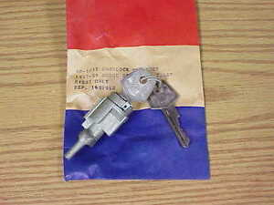 1957 1958 1959 Dodge NOS MoPar RH Door LOCK CYLINDER Custom Royal Lancer D500