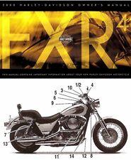 2000 HARLEY-DAVIDSON CVO FXR4 OWNERS MANUAL -NEW SEALED-CVO FXR 4-ORIGINAL-RARE