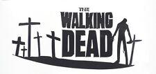"""The Walking Dead Zombie Cross Car Window Vinyl Decal Sticker 4""""x 8"""" in 12 Colors"""