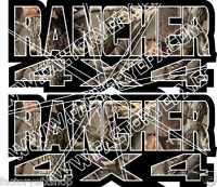 Rancher 4x4 Camo Gas Tank Graphics 350 400 420 Decal Sticker Atv Quad Fender
