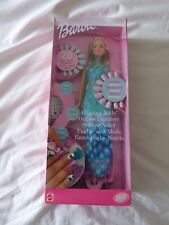 AMAZING NAILS BARBIE DOLL  2001 MATTEL 53379 - NEW