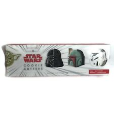 Williams Sonoma Star Wars Cookie Cutters Set of 4 New Open Box
