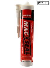 MACXSEAL Anti Mould Bath & Sanitary Silicone Sealant & Adhesive BRILLIANT WHITE