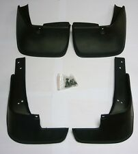 4 MUD FLAPS  (FRONT & REAR) FIT TOYOTA COROLLA SALOON (2003-2007) MUDFLAPS NEW