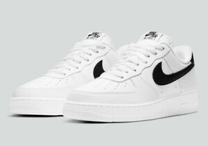 Nike Air Force 1 '07 Shoes White Black CT2302-100 Men's Muti Size NEW