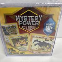 NEW Sealed Pokémon Mystery Power Cube. Base Set Charizard? 60+ Cards Vintage PSA