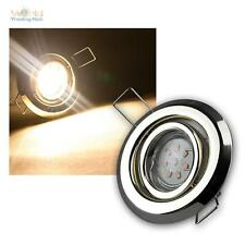 lot de 3 MR11 LED spot encastré LAITON je12 Puissance SMD LED blanc chaud incl.