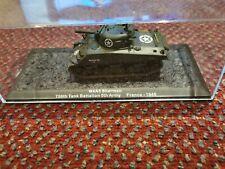 Altaya IXO 1/72 Scale Diecast M4A3 Sherman 756th Tank Battalion France 1945 NEW