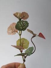 Miniature Hot shade Colour Foliage Round Big Leaves Plant Bush Dollhouse C4