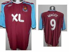 2007-08 FC West Ham United Home Waggy #9 Football Big Shirt Jersey size - XXL