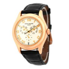 PATEK PHILIPPE 18K Rose Pink Gold 37mm Annual Calendar 5035 Warranty 5035-R Box