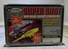 "ESTES SUPER SHOT MINI MODEL ROCKET KIT #EST1431 NIB- Vintage 5-1/2"" Rockets"