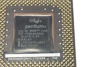 CPU INTEL PENTIUM MMX SL278 2.8V MHz. FV80503200.
