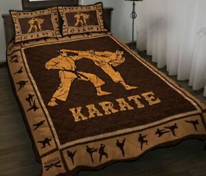 Karate Quilt Bed Set DA573