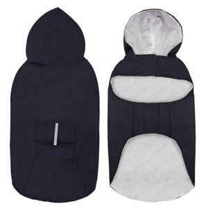 Large Dog Raincoat Reflective Waterproof Dog Clothes Lightweight Dog Rain Jacket
