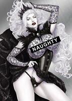 "Lady Death  ""Goth Queen"" David Harrigan  Naughty   Metallicard  Ltd. Ed. 199"