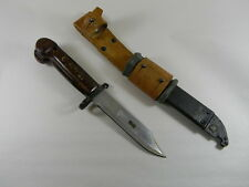 ROMANIAN  BAYONET WITH SCABBARD WITH LEATHER FROG