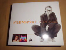 KYLIE MINOGUE 3 Originals Pop Musik CD 3er Box-Set EXTREM RAR+TOP!!!