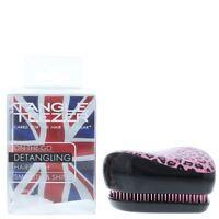 Tangle Teezer Compact Styler On-The-Go Detangling Hairbrush - Pink Kitty