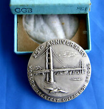 S.Fran.GG  Medal & Music Bx-25 Anniv.999+Silver--RARE w/ Bx-& 2018 RevPF MintSet