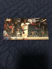 New listing 2020 Topps Stadium Club Ronald Acuna Jr Widevision Retail Boxtopper #116