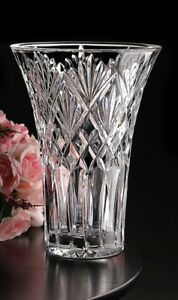 """Waterford Crystal Cassidy Vase 10""""  (25.4cm) Brand New in Original Box"""