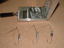Freshwater Spinnerbait Hidden Weight -4  mold 1/4, 3/8, 1/2 oz CNC Aluminum