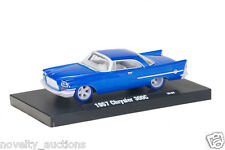 L57 11228 05  M2 AUTO DRIVERS 1957 57 CHRYSLER 300C Machines CHASE Blue Tires