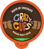 Crazy Cups Decaf Death By Chocolate Flavored Coffee For Keurig KCups 22 or 80ct
