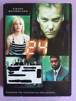 BOX DVD Film Ita Thriller 24 Stagione Tre 3 Edizione Da Colleizione no vhs (T5)