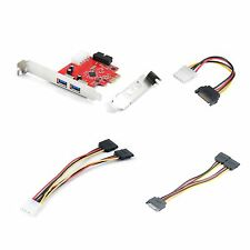 Qumox 2-port USB 3.0 to PCI-e Card Internal  card and 3 SATA/Molex Cable