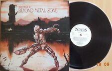 Mad Trax II - Beyond Metal Zone YUGOSLAVIAN LP 1987 METALLICA MEGADETH EXODUS
