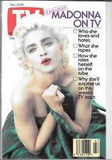 TV GUIDE NOVEMBER 1991 MADONNA COVER (FN/VF)