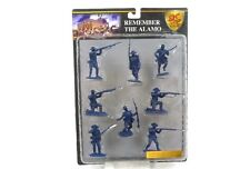 Conte Collectibles Remember The Alamo Plastic Figures 54mm Toy Soldiers Set 8