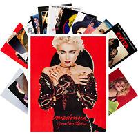 MADONNA Postcards (24 cards) Vintage Music Photo Poster Cover 1286