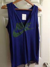 Nike NikeLab x Sacai Graphic Women's Tank / Blue and Green/ Women's Size Medium